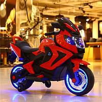 Детский электро-мотоцикл T-7229 Красный