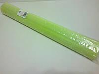 Гофрированная бумага салатовая Италия, фото 1