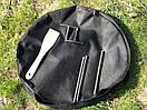 Сковорідка 60 см з кришкою і чохлом Буковинка, фото 8