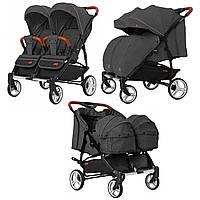 Детская универсальная коляска CARRELLO Connect CRL-5502/1 Serious Black Черный (CRL-5502/1 Serious Black)