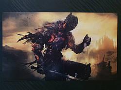 """Картина на дереве - Постер """"Dark Souls 3"""" 58 x 35 см"""