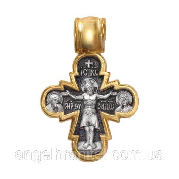 Крест «Распятие с Предстоящими. Божия Матерь Оранта»