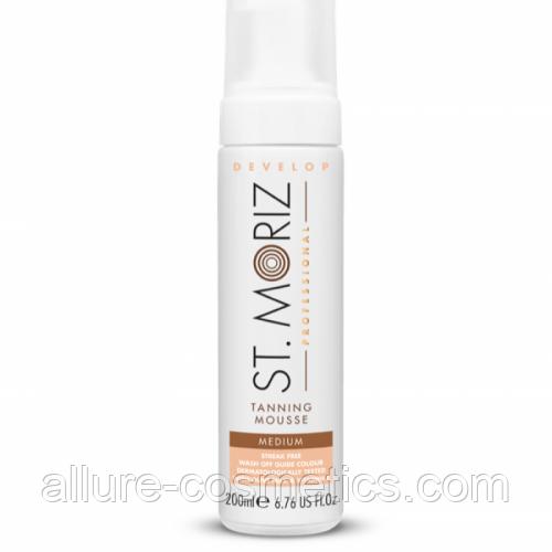 Мусс-автозагар средний Instant Self Tanning Mousse Medium ST. Moriz