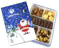 Набор сдобного печенья в корпоративной коробке