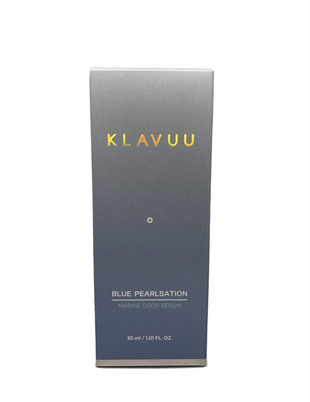 Зволожуюча сироватка з морським колагеном KLAVUU Blue Pearlsation Marine Drop serum