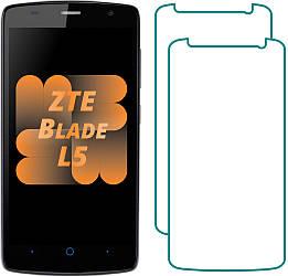 Комплект ZTE Blade L5 Защитные Стекла (2 шт.) (ЗТЕ Блейд Л5)