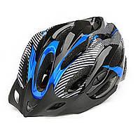 Шлем Soldler со стопом,велошлем со стоп-сигналом,вело шолом,велосипедний шолом,размер регулируется 52-64 см, фото 1