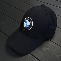 Чоловіча чорна кепка/бейсболка БМВ (BMW), фото 1