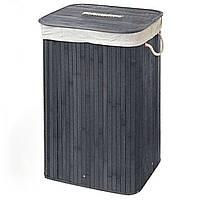Корзина для белья складная STENSON 40 х 30 х 60 см (складна корзина для білизни), фото 1