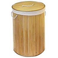 Корзина для белья складная STENSON 40 х 60 см (складна корзина для білизни), фото 1