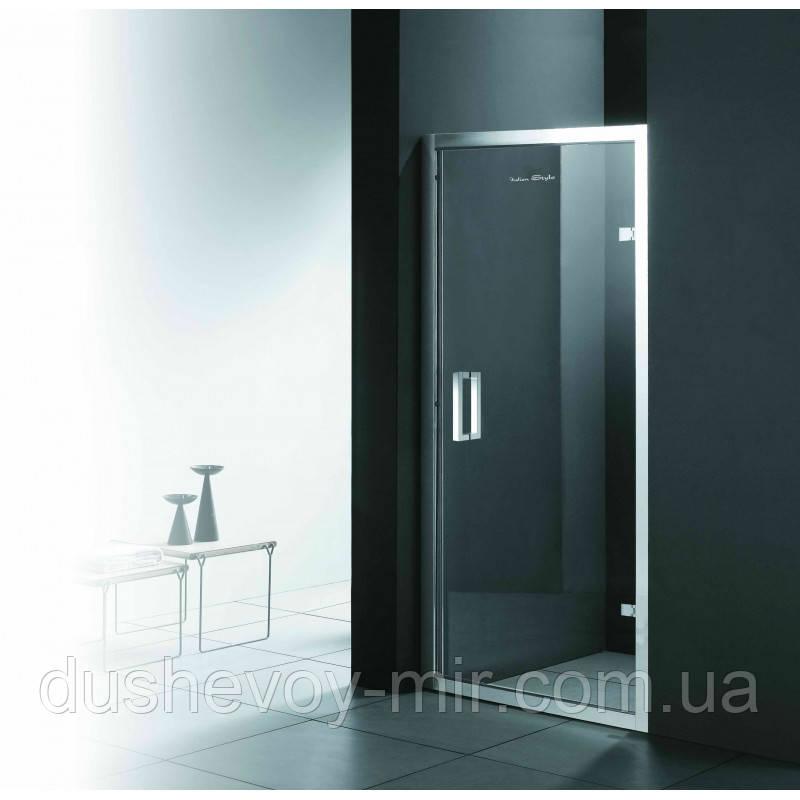 Душевые двери левые FONTE 1000х1850 M151 OА (ice engraving) AK левые
