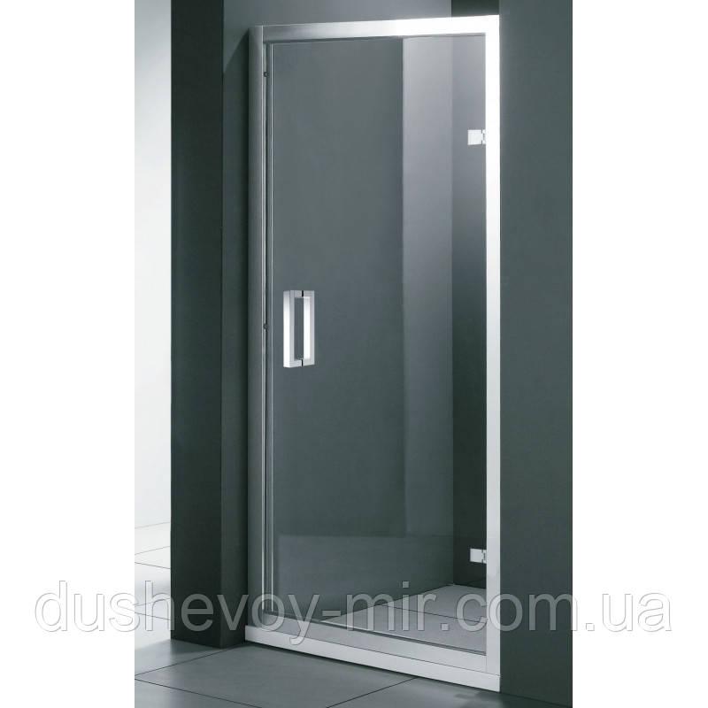 Душові двері праві FONTE 1000х1850 M151 ОG коричневі AK
