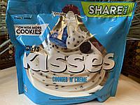 Конфеты Hershey´s Kisses белый шоколад с печеньем, фото 1