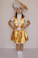 Костюм грибочка Лисички на дівчинку 3-6 років, фото 1