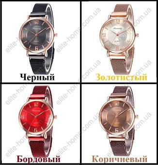 """Женские наручные часы на магнитной застежке """"Rinnandy"""" (коричневый), фото 2"""