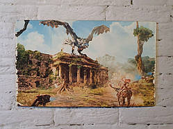 """Картина на дереве - Постер """"Horizon Zero Dawn"""" 37 x 23 см"""