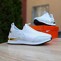 Женские кроссовки в стиле Louis Vuitton белые