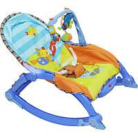 Детский шезлонг-качалка Joy Toy 7179 музыкальный