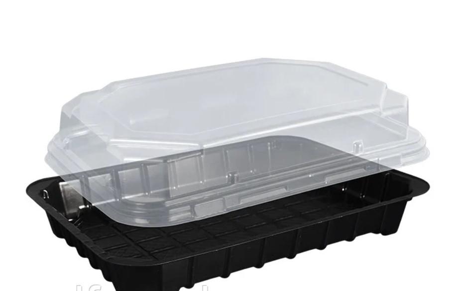 Харчова упаковка для суші 180*100*35 мм