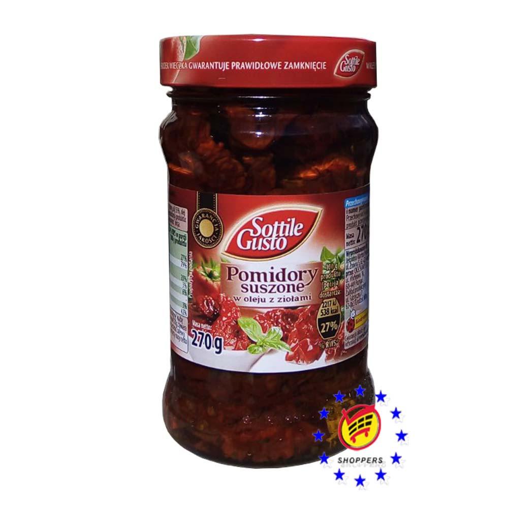 Вяленые помидоры Sottile Gusto в масле 270 г