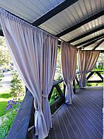 Практичные и красивые шторы для террасы и беседки