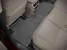 Ковры резиновые WeatherTech  Acura MDX 2014+ задний черный ( не гебрид )