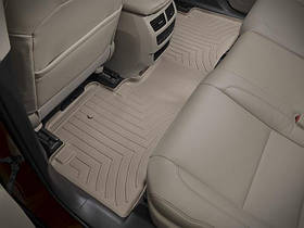 Ковры резиновые WeatherTech  Acura MDX 2014+ задний бежевый ( не гебрид )