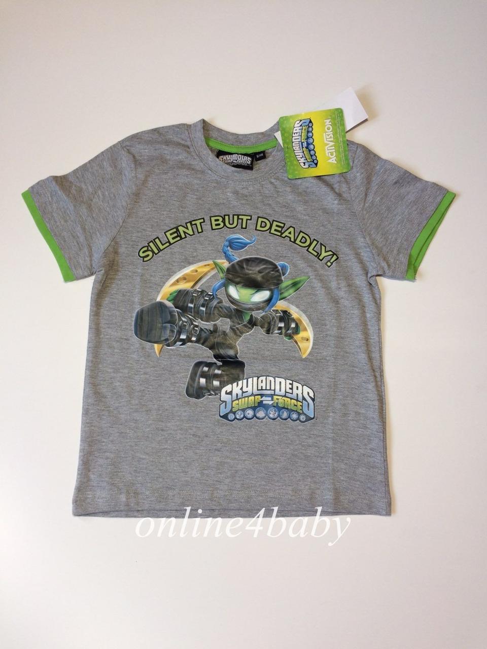 Футболка Skylanders на мальчика 5-6 лет