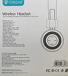 Наушники Беспроводные CELEBRAT A4 Bluetooth \ AUX, фото 5