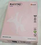 Папір кольоровий А4 160 г/м2 OPI74 рожевий фламінго, фото 2