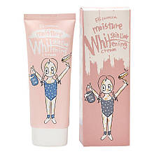 УЦЕНКА!!! Осветляющий крем ELIZAVECCA Moisture Whitening Skin Liar Cream