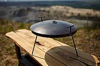 Сковорідка 40 см з кришкою Буковинка, фото 1