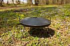 Сковородка 40 см с крышкой Буковинка, фото 2