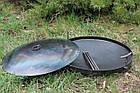 Сковородка 40 см с крышкой Буковинка, фото 5