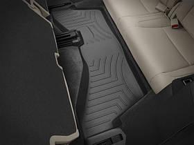 Ковры резиновые WeatherTech  Acura MDX 2014+ третий ряд черный ( второй ряд цельное сиденье )