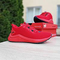 Кроссовки женские в стиле Puma  Hybrid красные, фото 1