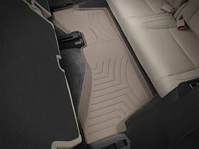 Ковры резиновые WeatherTech  Acura MDX 2014+ третий ряд бежевый ( второй ряд цельное сиденье )