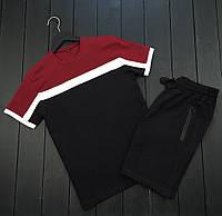 Мужской летний комплект футболка и шорты без бренда, фото 1