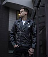 Мужская куртка-косуха Harley (черная)  S,M,L,XL