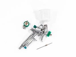 Краскораспылитель пневматический, AG 810 HVLP, гравитационный, сопло 0,8 мм и 1 мм Stels 57361