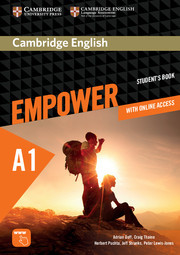 Cambridge English Empower A1 Starter Student's Book with Online Assessment and Practice, and Online Workbook