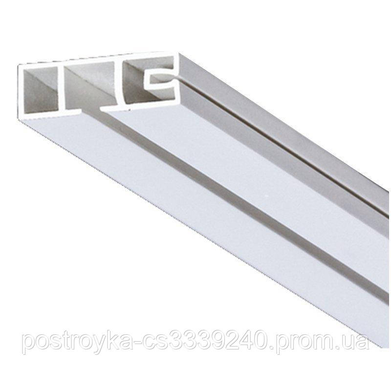 Карниз потолочный ОМ однорядный облегченный 2,10 метра