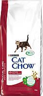 Cat Chow (Кет Чоу) Urinary Tract Health Корм для профилактики мочекаменной болезни у кошек 15 кг
