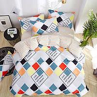 Комплект постельного белья Семейный Бязь Голд Люкс 100% хлопок 2 наволочки 50-70 см или 70-70 см