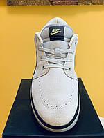 Замшевая серый Nike обувь мужская