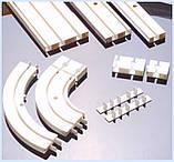 Карниз потолочный ОМ двухрядный облегченный 1.5 метра, фото 2