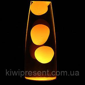 Лава Лампа ОРАНЖЕВАЯ 49 см Magma Lamp, фото 2