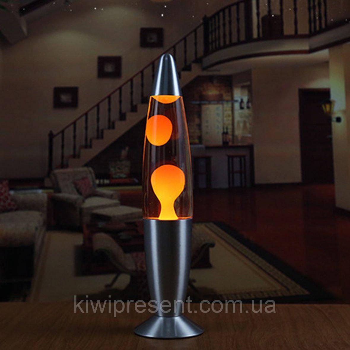 Лава Лампа ПОМАРАНЧЕВА 49 см Magma Lamp