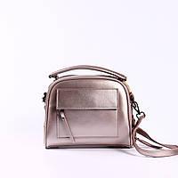 """Женская кожаная сумка  """"Элизавет Bright Pink"""", фото 1"""
