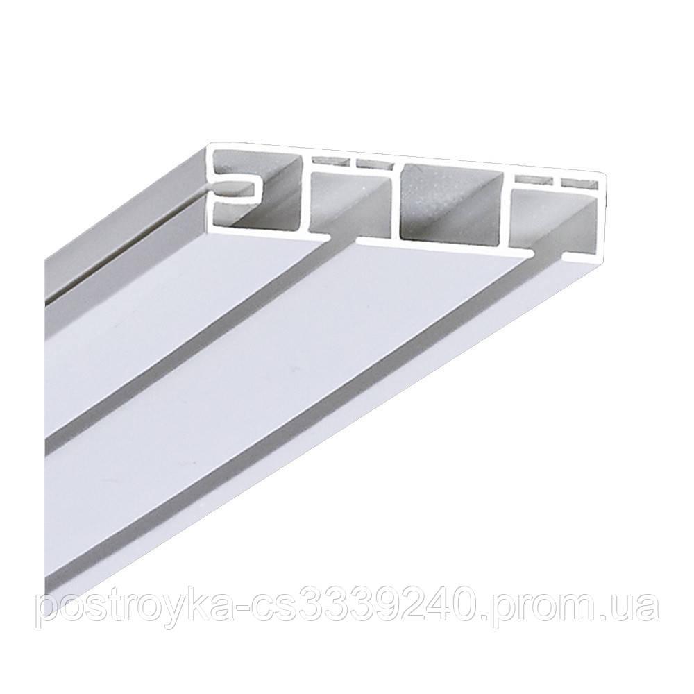 Карниз потолочный ОМ двухрядный облегченный 6 метров
